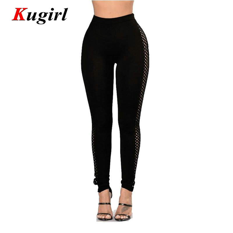 Fashion Mesh Hollow Out Pencil Jeans Woman Candy Colored High Waist Full Length Slim Fit Skinny Women Pants Одежда и ак�е��уары<br><br><br>Aliexpress