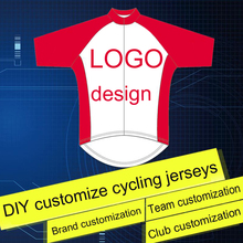 High Quality Customize Cycling Jerseys design Team Cycling Clothing DIY Bicycle jersey Cycling Equipment wholesale Free shipping