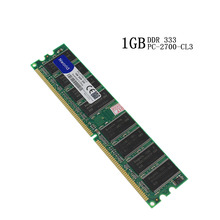 Comercio al por mayor 1 unids de Escritorio de memoria RAM DDR1 1 GB 1G 333 MHZ PC2700 Compatible 333 MHZ 266 MHZ 845 865 Placa Base