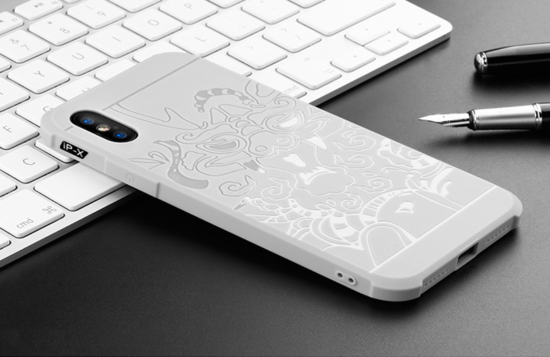 Prouphcs For iPhone X Case Soft Silicone TPU Cover Case for iPhone 7 8 Plus 6 6S 5S Full Protective Shockproof Phone Case 10