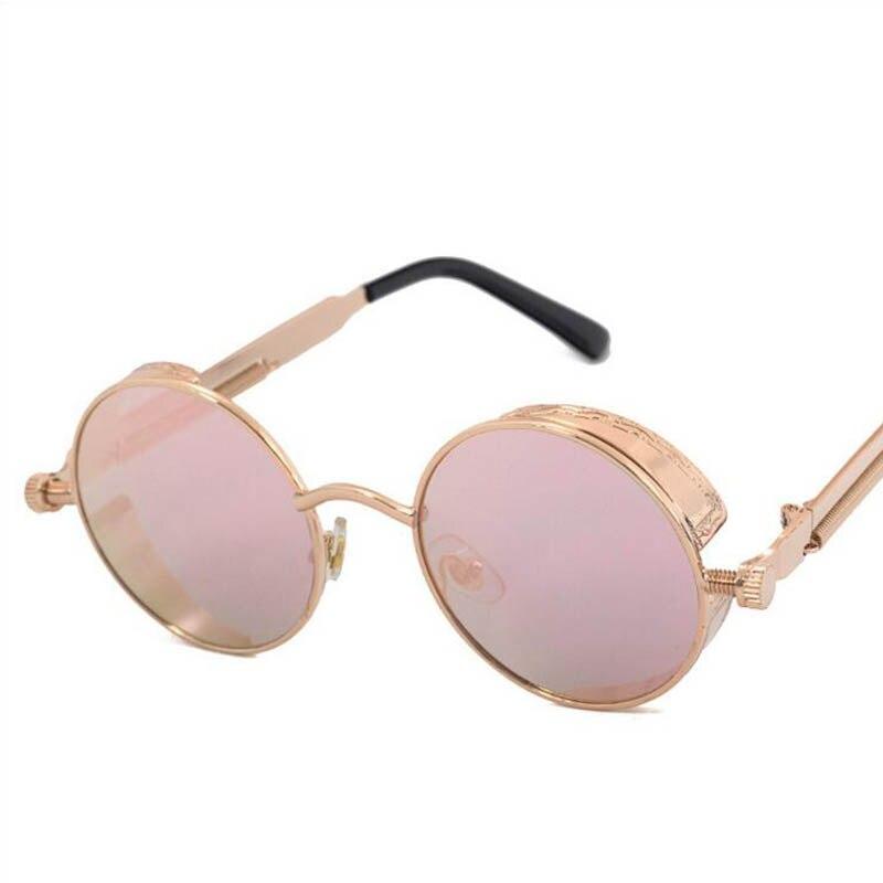 20pcs/lot Gothic Steampunk Women men Sunglasses Mirrored Sunglasses Round Circle Sun Glasses Retro Vintage Gafas Masculino Sol<br><br>Aliexpress