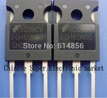 10PCS FGH60N60SMD FGH60N60  TO-247 IC