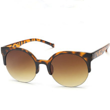 Fashion Multi Color 2016 Mercury Mirror Glasses Women Tea Sunglasses Male Female Coating Sunglass Gold Round Oculos