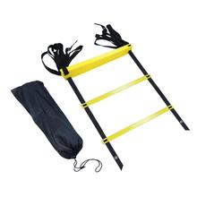 30Set X Speed Agility Ladder With Carry Bag 12 Rung Speed Training Equipment For High Intensity Footwork