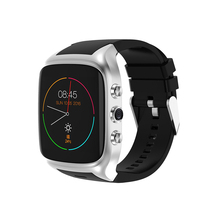 Newest X01S hot Android Smartwatch Phone Bluetooth Smart Watch 1.3GHz Dual Core IP67 GPS Watch Cam 512MB 8G Heart Rate 3G WiFi(China)