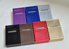 90x26x60CM metal cigarette case for man, hold 20pcs smoking box sleeves,hollow out Caja de cigarrillos smoking box