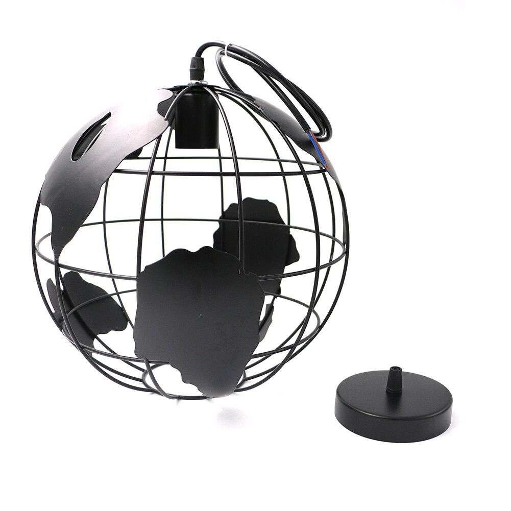 Art Carved Hollow Globe Pendant Lights Black/White Color Pendant Lamp Hollow Ball Pendant Lamps Fixture Home Deco 110V-250V<br>