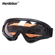 HEROBIKER X400 Outdoor Sport Motocross ATV Dirt Bike Goggles Motorcycle Off-Road Racing Motor Glasses Airsoft Paintball Eyewear(China)