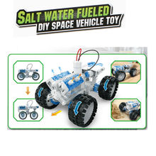 DIY Salt water fueled Space Vehicle toys Self assembled Brine power Battery Education intelligence boy gift puzzle Toy model kit