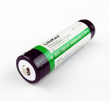 New Liitokala 18650 3400mAh 3.7V Lithium Battery  for Flashlights plus protection board Free Shopping