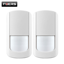 Buy 2pcs/lot 433Mhz Wireless PIR Sensor Motion Detector Wireless Wifi Home Security Alarm Systems G90B battery include for $19.79 in AliExpress store