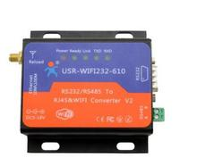 USR-WIFI232-610 V2 Serial RS232 RS485 to WiFi Ethernet Adapter Support UDP, TCP, HTTP Protocol and Transparent transmission