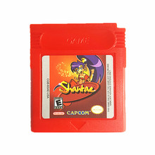 Nintendo Game Boy Color Shantae Video Game Cartridge Console Card English Language