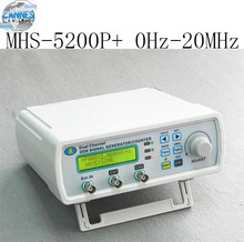 Digital Dual-channel DDS Signal Generator Arbitrary waveform generator Function signal generator MHS-5200P+ 20MHz Amplifier 5MHz