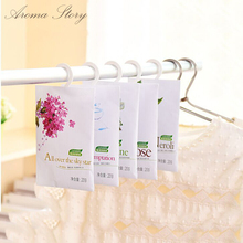 3pcs/lot Fresh Air Scented Fragrance Closet Wardrobe Drawer Car Perfume Sachet Bag Aromatherapy Package 12 Different Style