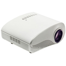 RD-802 Portable Projector proyector LED/LCD Portable mini projector AV/USB/VGA/HDMI/SD Home Theater Video 480*320 for DVD PC USB