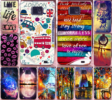 Colorful Sweet Home Happy London Ship PC Hard Plastic Case Shell For Samsung Galaxy S2 SII i9100 Mobile Phone Case Cover Hood