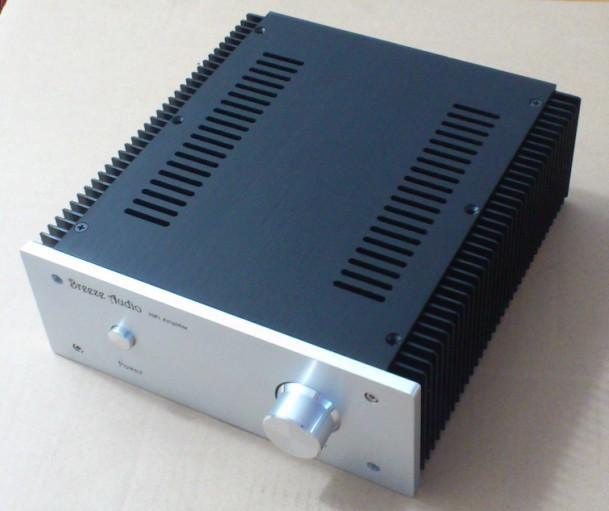 Breeze Audio new Full Aluminum power amplifier Enclosure Box AMP Case DIY 2409 aluminum amplifier enclosure , amplifier chassis<br><br>Aliexpress