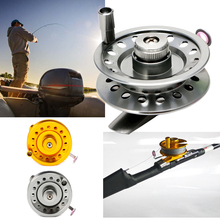 Aluminum Fishing Reel On The Ice For The Super Strong Fly Fishing Line Of The Sea Ice Skilled Wheel Peche Moulinet Fishing Acces(China)