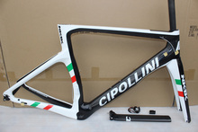NK1K cipollini frame carbon road bike frames 2017 racing bicycle frame carbon fiber bike frame, fork, seatpost, headset, clamp(China)