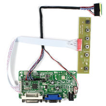 DVI VGA lcd controller board RT2281 work for  15.6inch B156XW02 LP156WH2  LP156WH24 LTN156AT17 1366x768 lcd panel