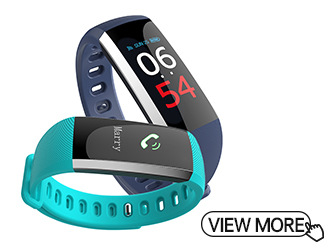 Waterproof Smart Bracelet With Pulse Pressure Meter