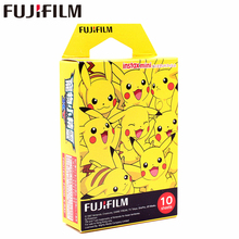 Fujifilm 10 sheets Instax Mini Pokemon PIKACHU Instant Film photo paper 8 7s 25 50s 90 9 SP-1 SP-2 Camera - Letoms Photography Store store