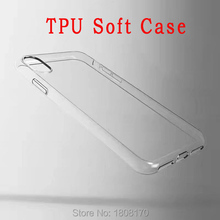 Clear Soft TPU Case For Iphone X IphoneX 1.0mm Transparent Crystal Cell Phone Skin Cover Coque Low Factory Price Back 100pcs(China)