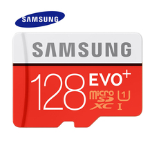 SAMSUNG Memory Card 128G SDHC SDXC TF80M Grade EVO+ MicroSD Class 10 Micro SD C10 UHS TF Trans Flash 128 GB(China)