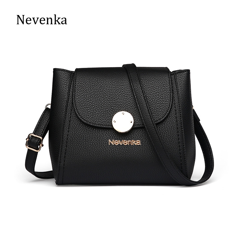 Nevenka Fashion Women Bag Ladies Flap Casual Messenger Bags Solid Color Top-Handle Evening Bags Crossbody Shoulder Bag Mini Sac<br><br>Aliexpress