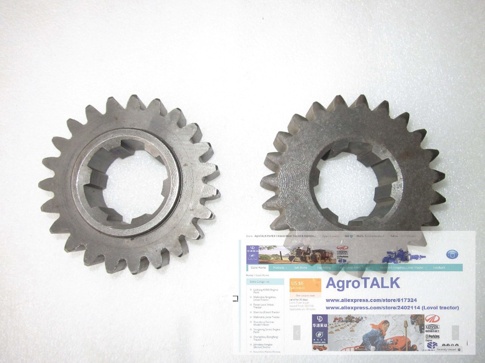 Fengshou tractor parts, 180 184 the gear, part number: 18.37.117<br>
