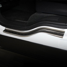 4pcs external outside door step sill scuff protector covers trim for Ford Explorer 2011 2012 2013 2014 2015 2016 2017 year