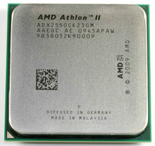 AMD Athlon II X2 255 processor 3.1GHz 2MB L2 Cache Socket AM3 Dual-Core scattered pieces cpu