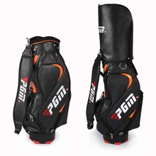 Top Quality PU Golf Bag For Men Standard Bag Waterproof Golf club Bag Golf Training Equipments Only Black Color For Choice(China)