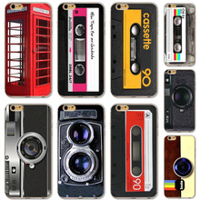 Old Camera Tape Funny Patterns Cover For Apple iPhone 5 5s SE fundas capa Soft Sillicon Transparent TPU Phone Cases Back Cover