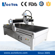 High speed wood working cnc router machine AKG1224 for main door designs(China)