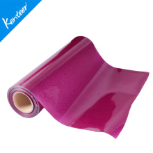 Q2-1 High Quality Glitter Iron On Heat Transfer Vinyl 0.5*25m/Roll Low Price(China)