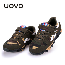 Buy UOVO Camouflage Pattern Children Shoes Spring Autumn Boys Shoes Casual Fashion Sport Shoes Little & Big Boys for $21.45 in AliExpress store