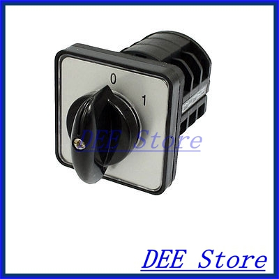 On Off Locking 2 Position AC 660V 10A Cam Combination Changeover Switch<br><br>Aliexpress