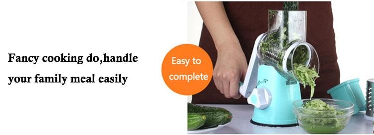 Multi-functional vegetable grater 3