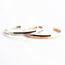 Fashion Jewelry Brand Lovers dw Bangle Bracelet Rose Gold Silver Color Men Women Classic Collocation Accessories Adjustable size