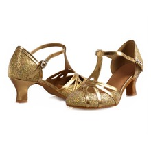 Buy Free Gold Silver Glitters Latin Dance Shoes Women Zapatos Salsa Mujer Ballroom Zapatos De Baile Latino Mujer 511 for $21.97 in AliExpress store