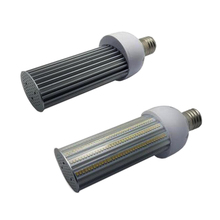 E27 E40 LED street light bulb 25w 35w 45w 55W led corn light parking lot lamp Poles lights(China)