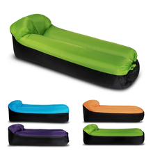 Air Bed Inflatable Camping Sleep Bed Air Sofa Beach Bed Lounger Portable Sleeping Sofa Couch for Travel Camping Beach Backyard