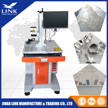 Optical Raycus 20w laser marking machine for metal parts / laser engraving metal with high precision / cnc fiber marker