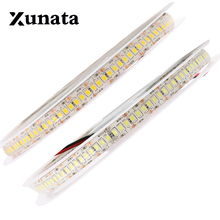 New Horse Race 10mm Width 5m Single Row 2835 1200 SMD LED Strip 12V Flexible 240 LED/m Tape Cold White Warm White RGB Waterproof(China)