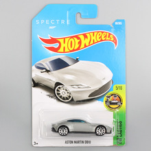 kids brand HW hotwheels metal diecast model Exotics Aston Martin race track auto cars toys collection gifts hot wheels for boys