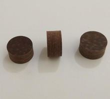 Free shipping 3pcs/lot brown 14mm billiard pool cue tip 8layers pigskin leather tip can Customize LOGO high quality