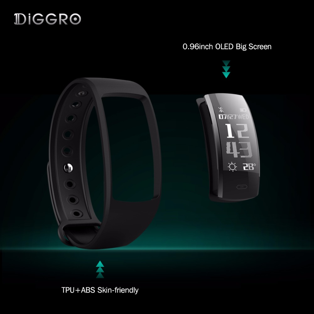 Diggro QS90 Blood Pressure Smart Bracelet Heart Rate Monitor Blood Oxygen Monitor IP67 Fitness Tracker for Andriod IOS VS QS80 7