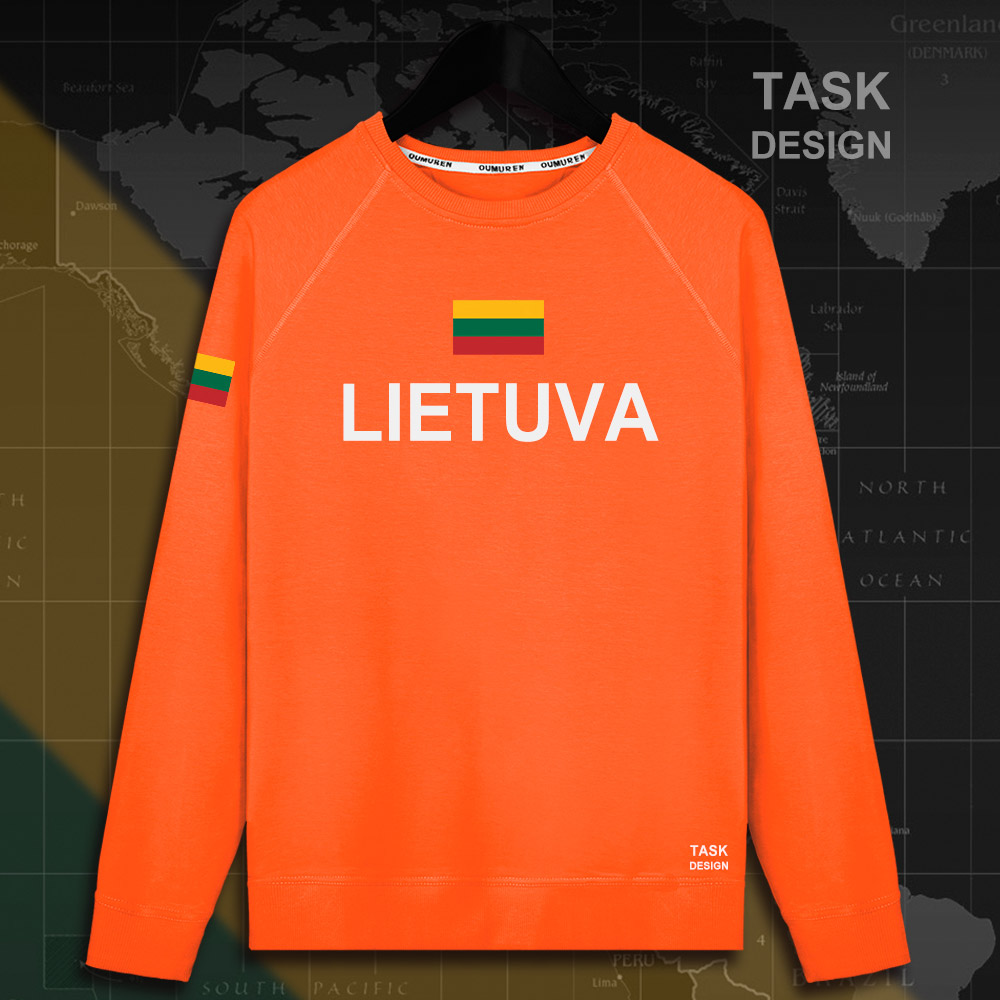 Lithuania Lithuanian LTU Lietuva Lietuvos men hoodie pullovers hoodies men sweatshirt new streetwear clothing Sportswear tracks 8